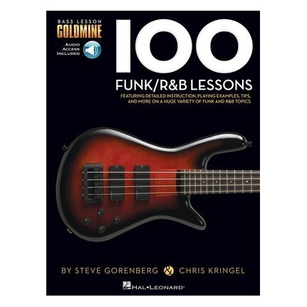 100 Funk/R&B Lessons Bk/Online Audio