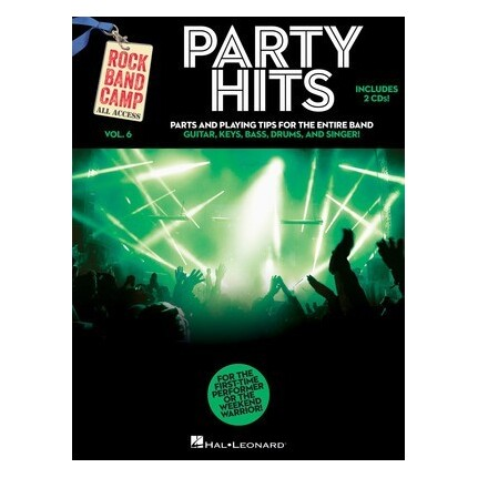 Party Hits Rock Band Camp Vol 6 Bk/CDs