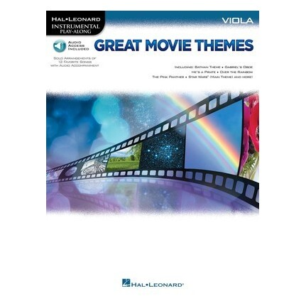 Great Movie Themes Viola Bk/Online Audio