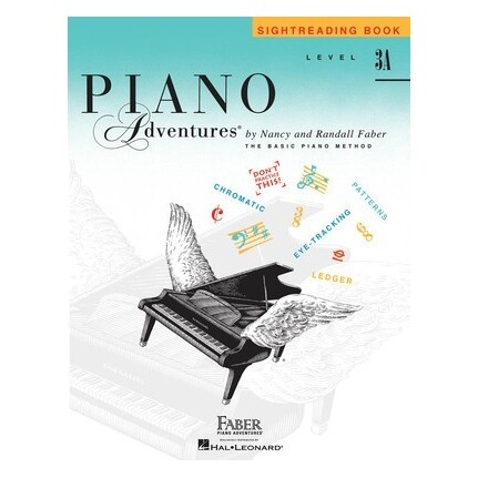 Piano Adventures Sightreading Book Level 3A