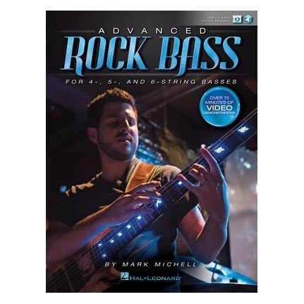 Advanced Rock Bass Bk/Online Audio/Video