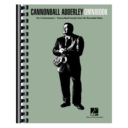 Cannonball Adderley Omnibook For C Instruments