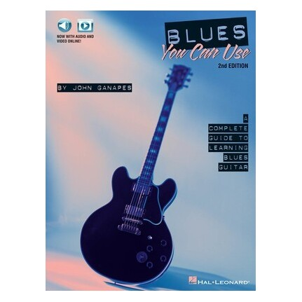 Blues You Can Use 2nd Edition Bk/Online Media