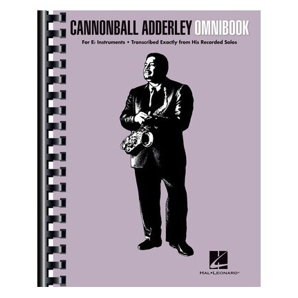 Cannonball Adderley Omnibook For Eb Instruments
