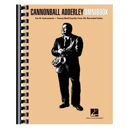 Cannonball Adderley Omnibook For Bb Instruments