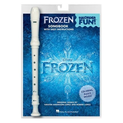 Frozen Recorder Fun! Pack of Recorder and Songbook
