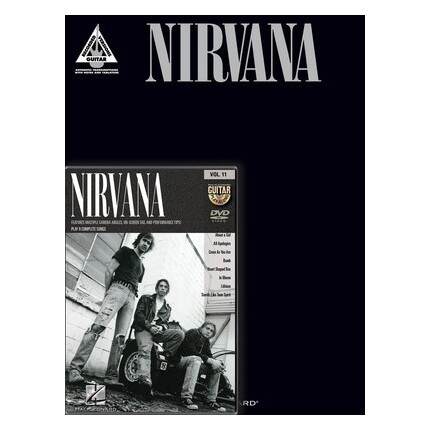 Nirvana Guitar Book and DVD Pack