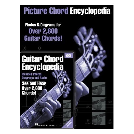Guitar Picture Chord Encyclopedia Book/DVD Pack