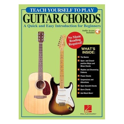 Teach Yourself To Play Guitar Chords Bk/Online Audio