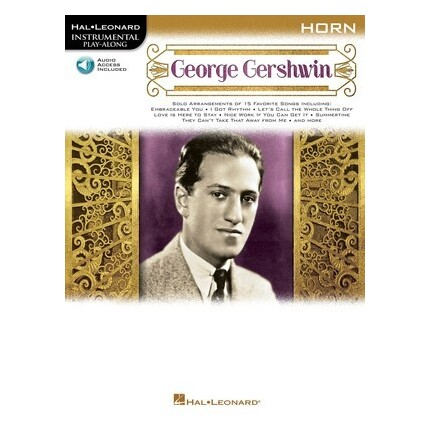 George Gershwin French Horn Play-Along Bk/Online Audio