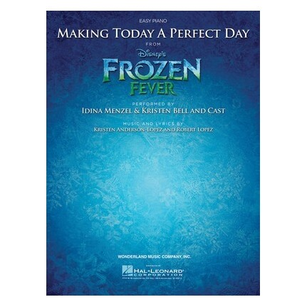 Frozen Fever - Making Today A Perfect Day Easy Piano