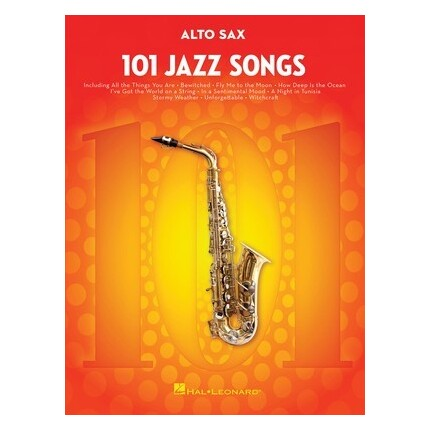 101 Jazz Songs For Alto Sax