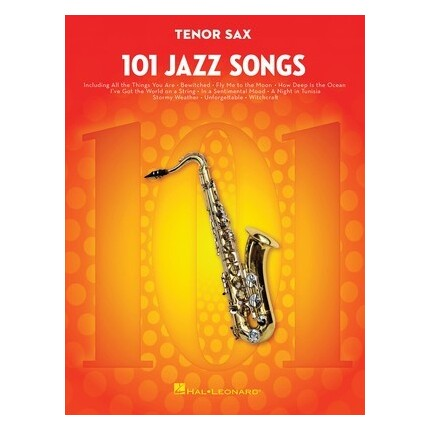 101 Jazz Songs For Tenor Sax