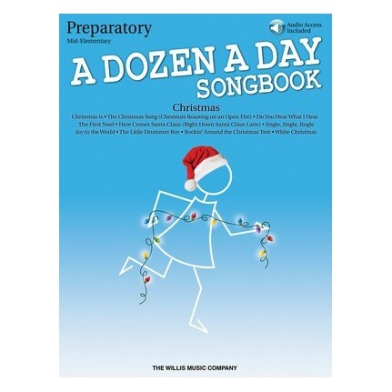 A Dozen A Day Christmas Preparatory Mid-Elementary Bk/Online Audio