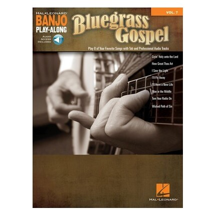 Bluegrass Gospel Banjo Play-Along Vol 7 Bk/Online Audio