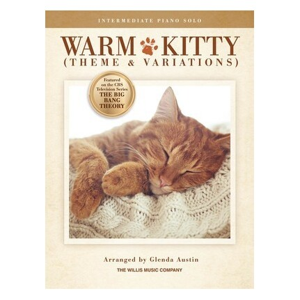 Warm Kitty (Theme and Variations) Intermediate Piano Solo