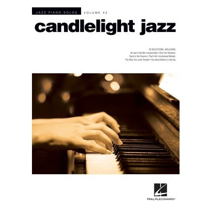 Candlelight Jazz Piano Solos Vol 43
