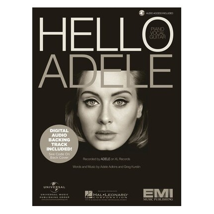 Adele - Hello Piano/Vocal/Guitar Bk/Online Audio
