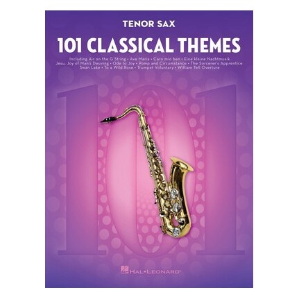 101 Classical Themes For Tenor Sax