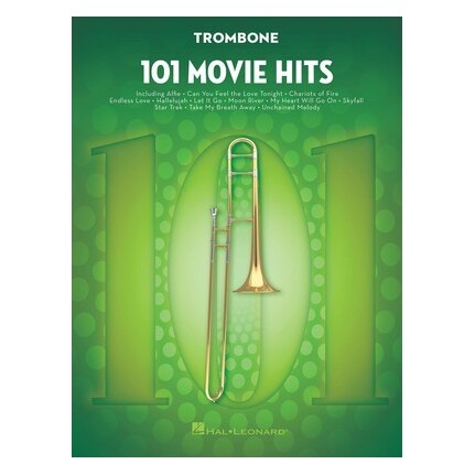 101 Movie Hits For Trombone