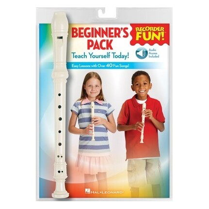 Recorder Fun! Beginners Pack with Recorder/Bk/Online Audio