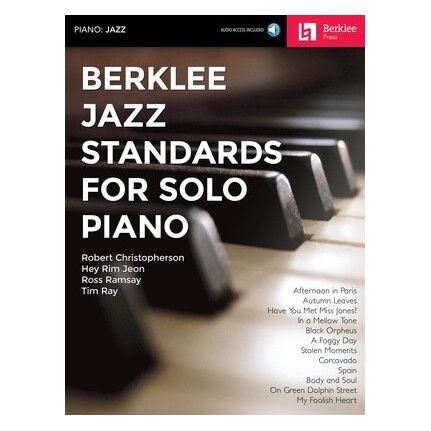 Berklee Jazz Standards For Solo Piano Bk/Online Audio