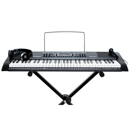 Alesis Keyboard Melody 61 MKII 61-Key Portable Keyboard w/Accessories