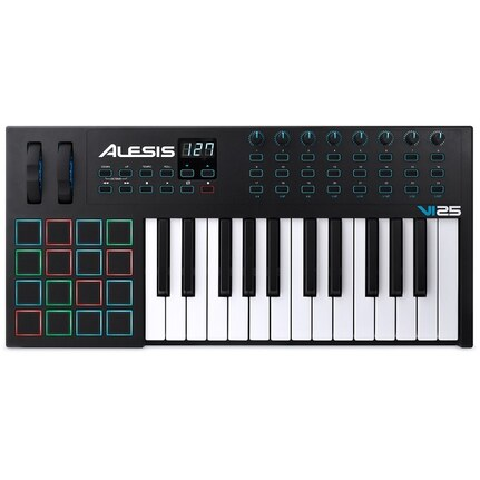 Alesis VI25 Advanced 25-Key USB-MIDI Keyboard & Pad Controller
