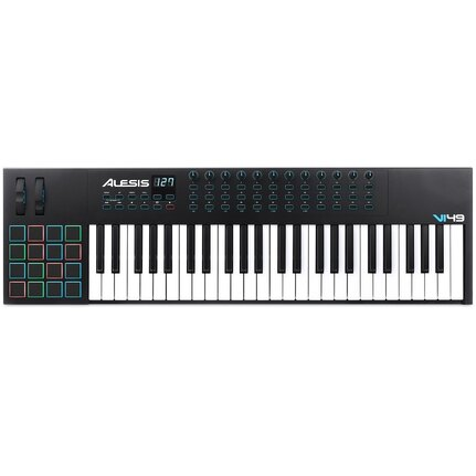 Alesis VI49 Advanced 49-Key USB-MIDI Keyboard & Pad Controller