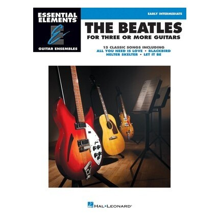 The Beatles For Three Or More Guitars - Early Intermediate