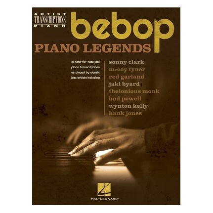 Bebop Piano Legends