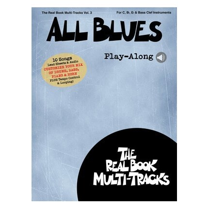 All Blues Play-Along Vol 3 Bk/Online Media