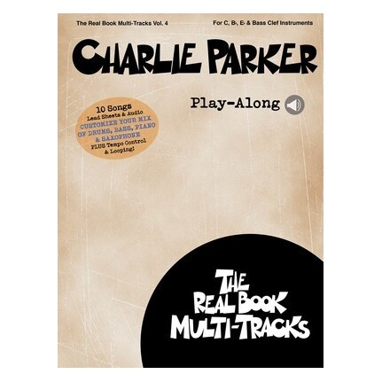 Charlie Parker Play-Along Vol 4 Bk/Online Media
