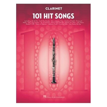 101 Hit Songs For Clarinet