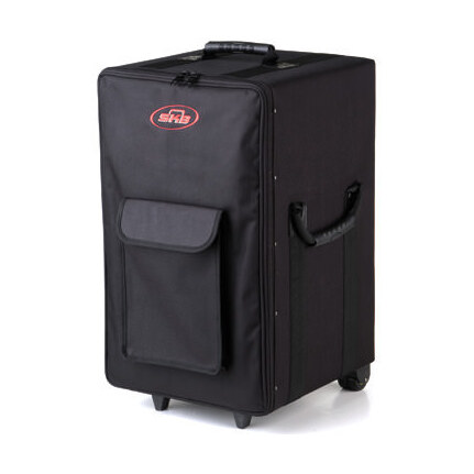 Skb 1Skb-Scpm2 Large Rolling Powered Speaker/Mixer Soft Case