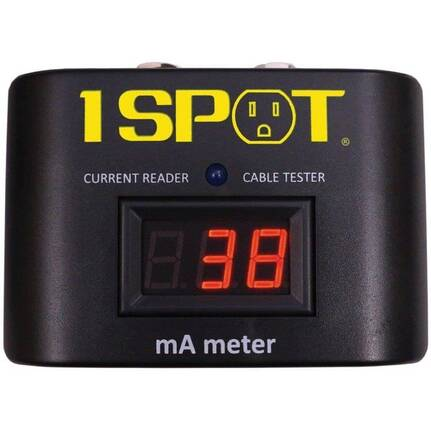 1 Spot mA (Milliamp) Meter Power Consumption Reader for Pedals