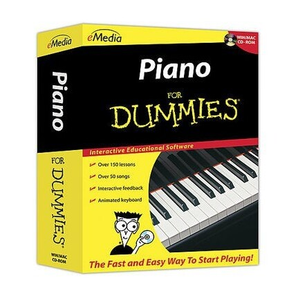 eMedia Piano For Dummies CD-ROM