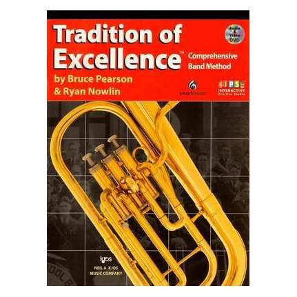 Tradition Of Excellence E Flat Horn Bk 1 Bk/DVD