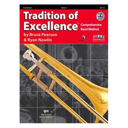 Tradition Of Excellence Trombone Bk 1 Bk/DVD