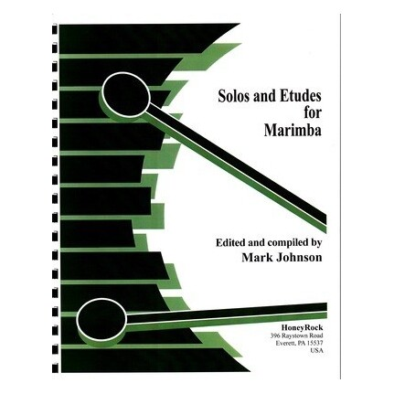 Solos And Etudes For Marimba