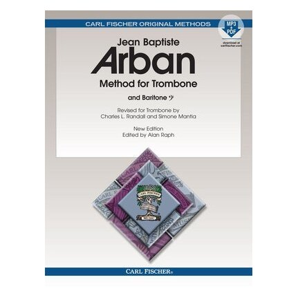 Arban - Method For Trombone Bass Clef Bk/CD