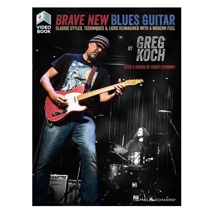 Brave New Blues Guitar Bk/olv