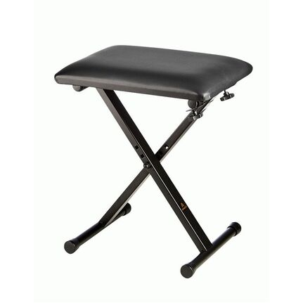 Armour KS75 Padded Black Keyboard Stool/Bench