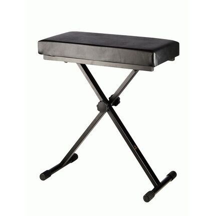 Armour KS100 Premium Padded Black Keyboard Stool/Bench