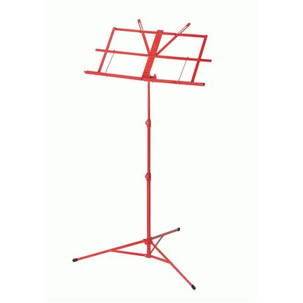 Armour MS3127R Student Music Stand w/Bag Red