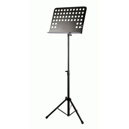 Armour MS100SHA Orchestral Music Stand w/Holes Black