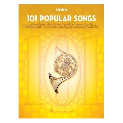 101 Popular Songs For Horn