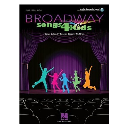 Broadway Songs For Kids Piano/Vocal/Guitar Bk/CD