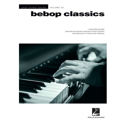 Bebop Classics Jazz Piano Solos Vol 52