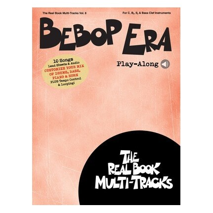Bebop Era Play-Along Vol 8 Bk/Online Media